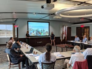 Field-Studies-Course-Presenting-to-FIO-Council